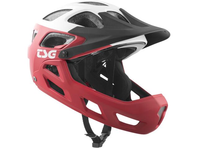 TSG Seek FR Graphic Design Helmet block red-white